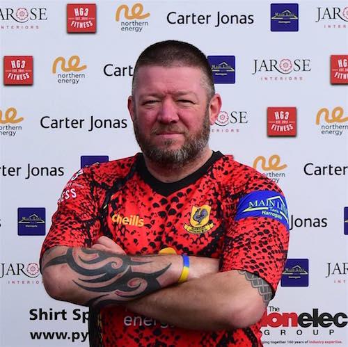Harrogate Pythons RUFC Club Captain 2020/2021. 2nd XV Captain 2017/2018