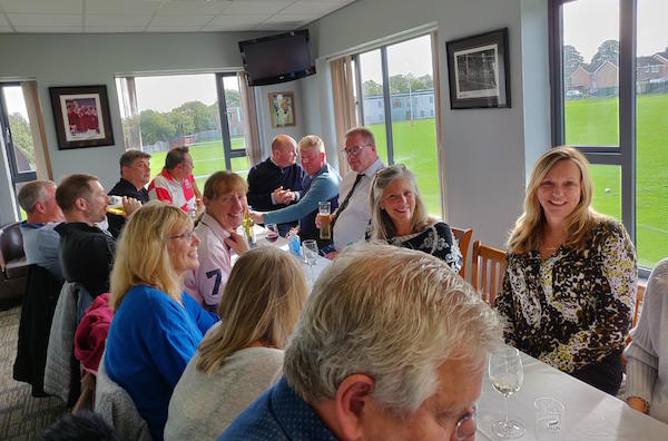 Our First Chairman's Club Lunch