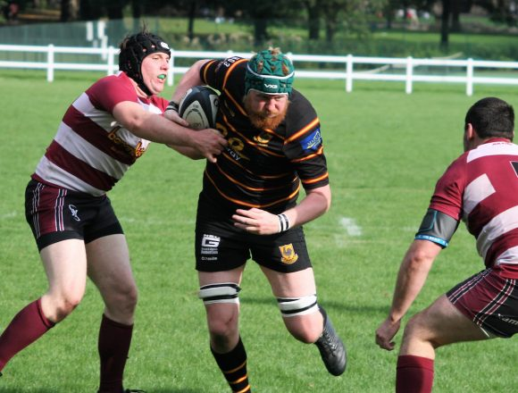 Pythons 1st XV run in 6 tries at Burley . . .