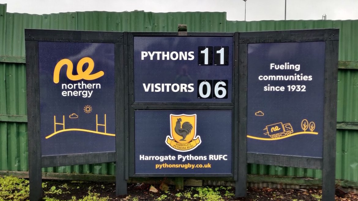 Scrappy Win for Pythons at the Rain Soaked JSG